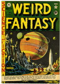 Golden Age (1938-1955):Science Fiction, Weird Fantasy #17 (#5) Canadian edition (EC/Superior, 1951)Condition: VF+....