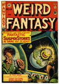 Golden Age (1938-1955):Science Fiction, Weird Fantasy #14 (#2) Canadian edition (EC/Superior, 1950)Condition: FN+....