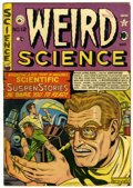 Golden Age (1938-1955):Science Fiction, Weird Science #12 (#1) Canadian edition (EC/Superior, 1950)Condition: VG/FN....