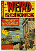 Golden Age (1938-1955):Science Fiction, Weird Science #13 (#2) Canadian edition (EC/Superior, 1952)Condition: FN....
