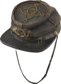 Military & Patriotic:Civil War, Historic Cap Worn in Battle by Valiant New York Officer and Congressional Medal of Honor winner. The piece was worn by Capta... (Total: 3 Items)