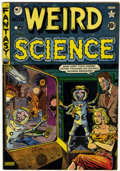 Golden Age (1938-1955):Science Fiction, Weird Science #15 (#4) Canadian edition (EC/Superior, 1950)Condition: FN....