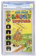 Bronze Age (1970-1979):Humor, Sad Sack Laugh Special #91 File Copy (Harvey, 1976) CGC NM/MT 9.8 Off-white to white pages....