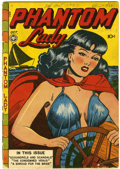 Golden Age (1938-1955):Crime, Phantom Lady #14 (Fox Features Syndicate, 1947) Condition: GD/VG....