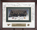 Hockey Collectibles:Others, 1998-99 Dallas Stars Team Signed Oversized Photograph....
