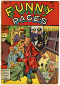 Golden Age (1938-1955):Miscellaneous, Funny Pages #36 (Centaur, 1940) Condition: FR/GD....