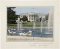 Political:Miscellaneous Political, John F. Kennedy: Oversized Presidential Christmas Card, 1961,...