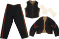 Military & Patriotic:Civil War, Exceptionally Rare and Historic Uniform of Famed Birney's Zouaves. ... (Total: 4 Items)