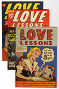 Golden Age (1938-1955):Romance, Love Lessons #1-5 Group (Harvey, 1949-50).... (Total: 5 ComicBooks)