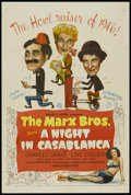 "Movie Posters:Comedy, A Night in Casablanca (United Artists, 1946). One Sheet (27"" X41""). Comedy...."
