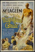 """Movie Posters:Drama, Magnificent Brute (Universal, 1936). One Sheet (26.75"""" X 40.5"""").Drama...."""