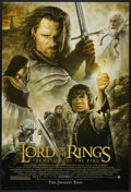 """Movie Posters:Fantasy, The Lord of the Rings: The Return of the King (New Line, 2003). One Sheet (27"""" X 40"""") SS Advance. Fantasy...."""