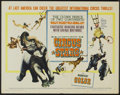 "Movie Posters:Documentary, Circus Stars (Paramount, 1960). Half Sheet (22"" X 28""). Documentary...."