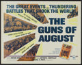 "Movie Posters:Documentary, The Guns of August (Universal, 1965). Half Sheet (22"" X 28""). Documentary...."