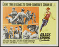 "Movie Posters:Western, Black Spurs (Paramount, 1965). Half Sheet (22"" X 28""). Western...."