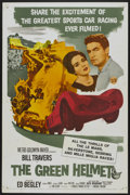 """Movie Posters:Sports, The Green Helmet (MGM, 1961). One Sheet (27"""" X 41""""). Sports...."""