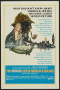 "Movie Posters:Mystery, The Private Life of Sherlock Holmes (United Artists, 1970). OneSheet (27"" X 41"") Style A. Mystery...."