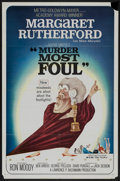 """Movie Posters:Comedy, Murder Most Foul (MGM, 1964). One Sheet (27"""" X 41""""). Comedy...."""