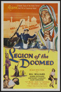 "Movie Posters:Adventure, Legion of the Doomed (Allied Artists, 1958). One Sheet (27"" X 41"").Adventure...."
