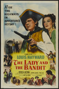 "Movie Posters:Adventure, The Lady and the Bandit (Columbia, 1951). One Sheet (27"" X 41"").Adventure...."