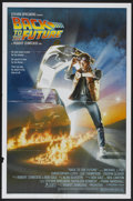 "Movie Posters:Science Fiction, Back to the Future (Universal, 1985). One Sheet (27"" X 41"").Science Fiction...."
