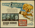 "Movie Posters:Adventure, The Secret Ways (Universal, 1961). Half Sheet (22"" X 28"").Adventure...."