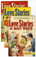 Golden Age (1938-1955):Romance, Love Stories of Mary Worth #1-5 Group (Harvey, 1949-50) Condition: Average VF+.... (Total: 5 Comic Books)