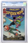 Silver Age (1956-1969):Superhero, The Amazing Spider-Man #39 (Marvel, 1966) CGC NM 9.4 Whitepages....