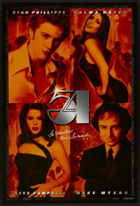 "54 (Miramax, 1998). One Sheet (27"" X 40"") DS Advance. Drama"