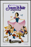 "Movie Posters:Animated, Snow White and the Seven Dwarfs Lot (Buena Vista, R-1987). OneSheets (2) (27"" X 41"") 50th Anniversary Style. Animated.... (Total:2 Items)"