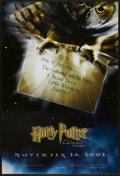 """Movie Posters:Fantasy, Harry Potter and the Sorcerer's Stone Lot (Warner Brothers, 2001). One Sheets (2) (27"""" X 40"""") SS Advance. Fantasy.... (Total: 2 Items)"""