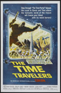 "Movie Posters:Science Fiction, The Time Travelers (American International, 1964). One Sheet (27"" X41""). Science Fiction...."