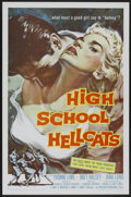 "Movie Posters:Bad Girl, High School Hellcats (American International, 1958). One Sheet (27""X 41""). Bad Girl...."