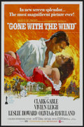 "Movie Posters:Academy Award Winner, Gone with the Wind (MGM, R-1974). One Sheet (27"" X 41""). Academy Award Winner...."