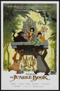 "Movie Posters:Animated, The Jungle Book (Buena Vista, R-1984). One Sheet (27"" X 41"").Animated...."