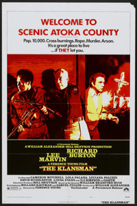 "The Klansman (Paramount, 1974). One Sheet (27"" X 41"") Style A. Action"