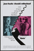 """Movie Posters:Thriller, Klute (Warner Brothers, 1971). One Sheet (27"""" X 41""""). Thriller...."""