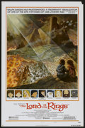 "Movie Posters:Animated, The Lord of the Rings (United Artists, 1978). One Sheet (27"" X 41"")Style B. Animated...."