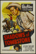 """Movie Posters:Western, Shadows of Tombstone (Republic, 1953). One Sheet (27"""" X 41"""").Western...."""