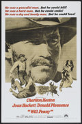 "Movie Posters:Western, Will Penny (Paramount, 1968). One Sheet (27"" X 41""). Western...."