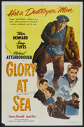 """Movie Posters:Adventure, Glory at Sea (Souvaine Selective, 1953). One Sheet (27"""" X 41"""").Adventure...."""