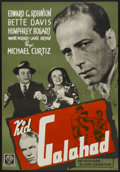 "Movie Posters:Crime, Kid Galahad (Warner Brothers, R-1940s). Swedish One Sheet (27.5"" X39.5""). Crime...."