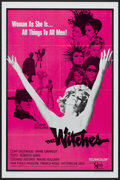 "Movie Posters:Drama, The Witches (United Artists, 1967). One Sheet (27"" X 41""). Drama...."