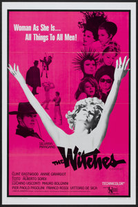 """The Witches (United Artists, 1967). One Sheet (27"""" X 41""""). Drama"""