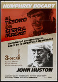 "Movie Posters:Drama, The Treasure of the Sierra Madre (Vision Films, R-1960s). Spanish One Sheet (27.5"" X 39""). Drama...."
