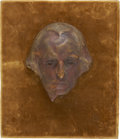 Political:3D & Other Display (1896-present), Gutzon Borglum: A Rare Signed Plaster Model of George Washington's Portrait, Presumably a Study for His Mount Rushmore Masterp...