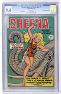 Golden Age (1938-1955):Adventure, Sheena, Queen of the Jungle #7 Mile High pedigree (Fiction House, 1950) CGC NM 9.4 White pages....