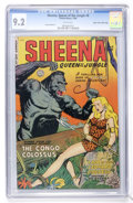 Golden Age (1938-1955):Adventure, Sheena, Queen of the Jungle #8 Mile High pedigree (Fiction House, 1950) CGC NM- 9.2 White pages....