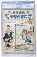 Platinum Age (1897-1937):Miscellaneous, Star Comics #7 (Harry 'A' Chesler, 1937) Mile High pedigree CGC VF+8.5 Off-white to white pages....