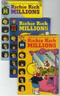 Silver Age (1956-1969):Humor, Richie Rich Millions File Copy Group (Harvey, 1964-79) Condition: Average VF/NM.... (Total: 14 Comic Books)